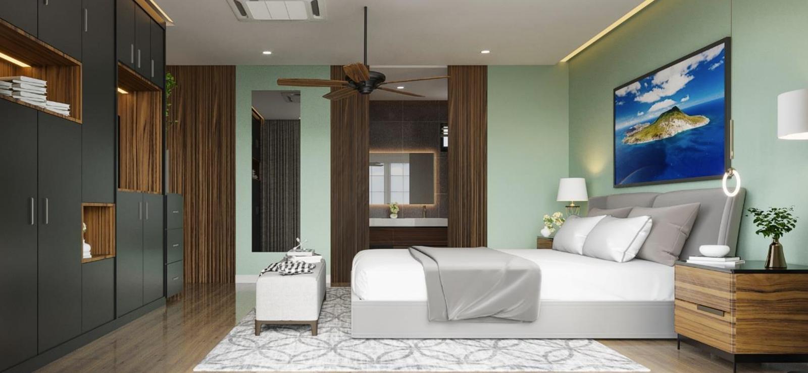 Slaapkamer Golden Rock Resort