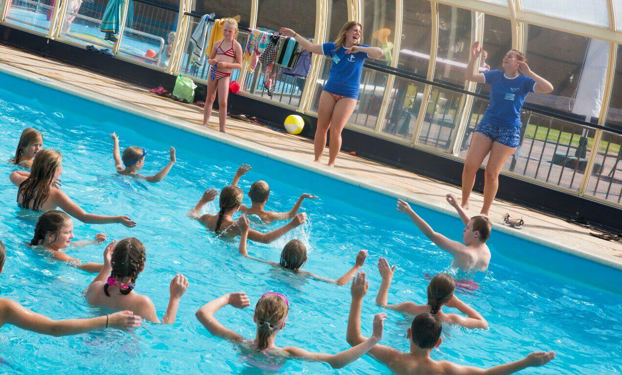 Camping Nederland met zwembad