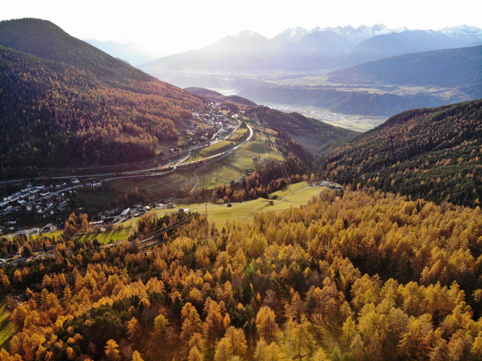 Herbstferien in Seefeld, Österreich