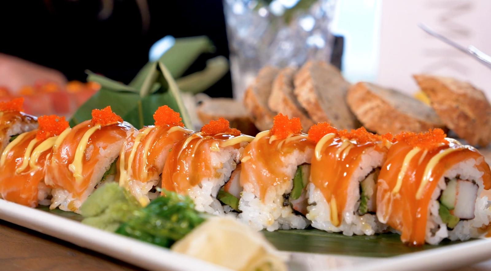 Sushi bij Brasserie Zeven