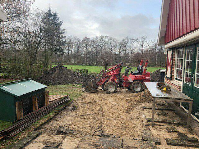 1e kwartaal 2021, gestart met verbouw in 4 woningen