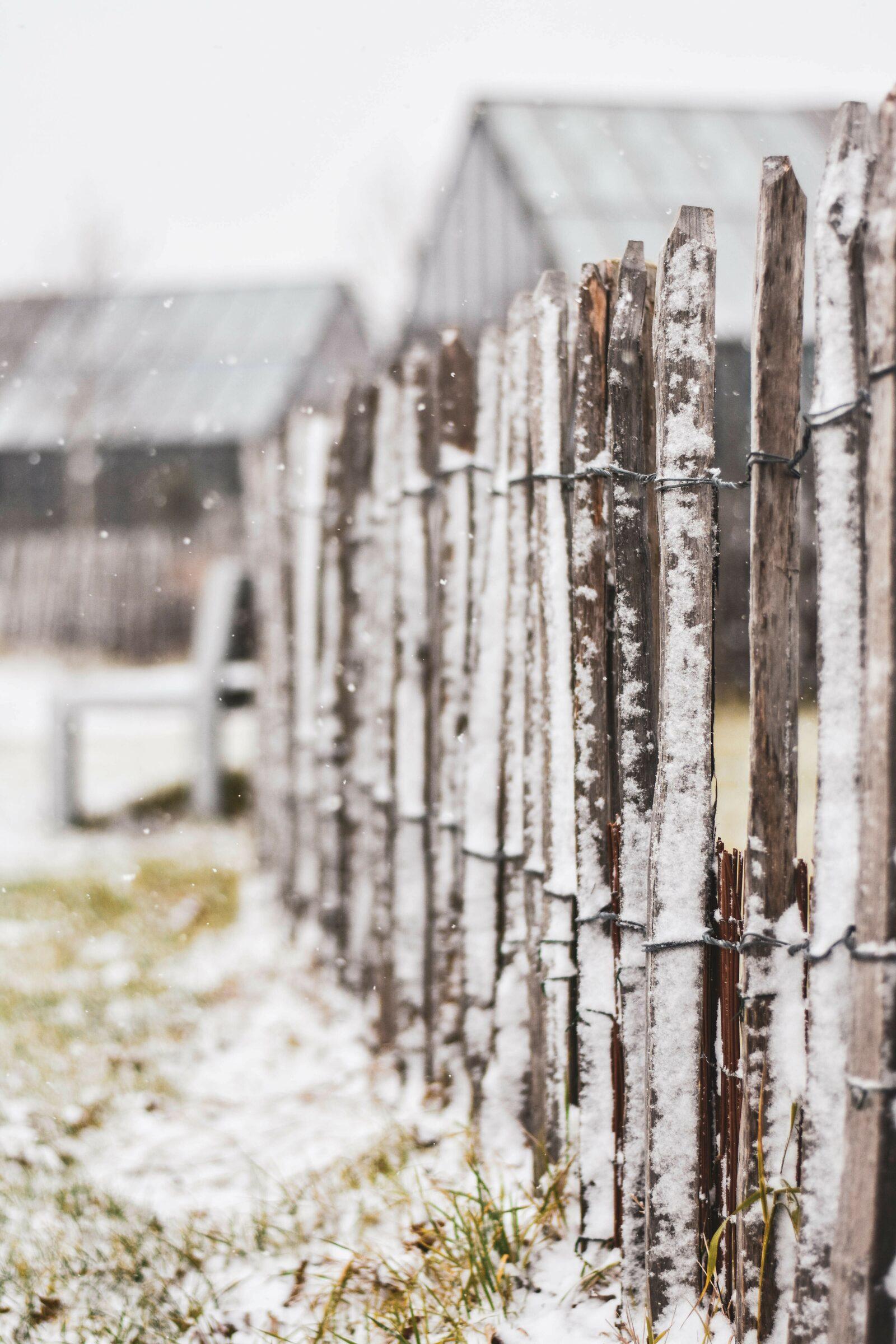 Sneeuw op Klepperstee