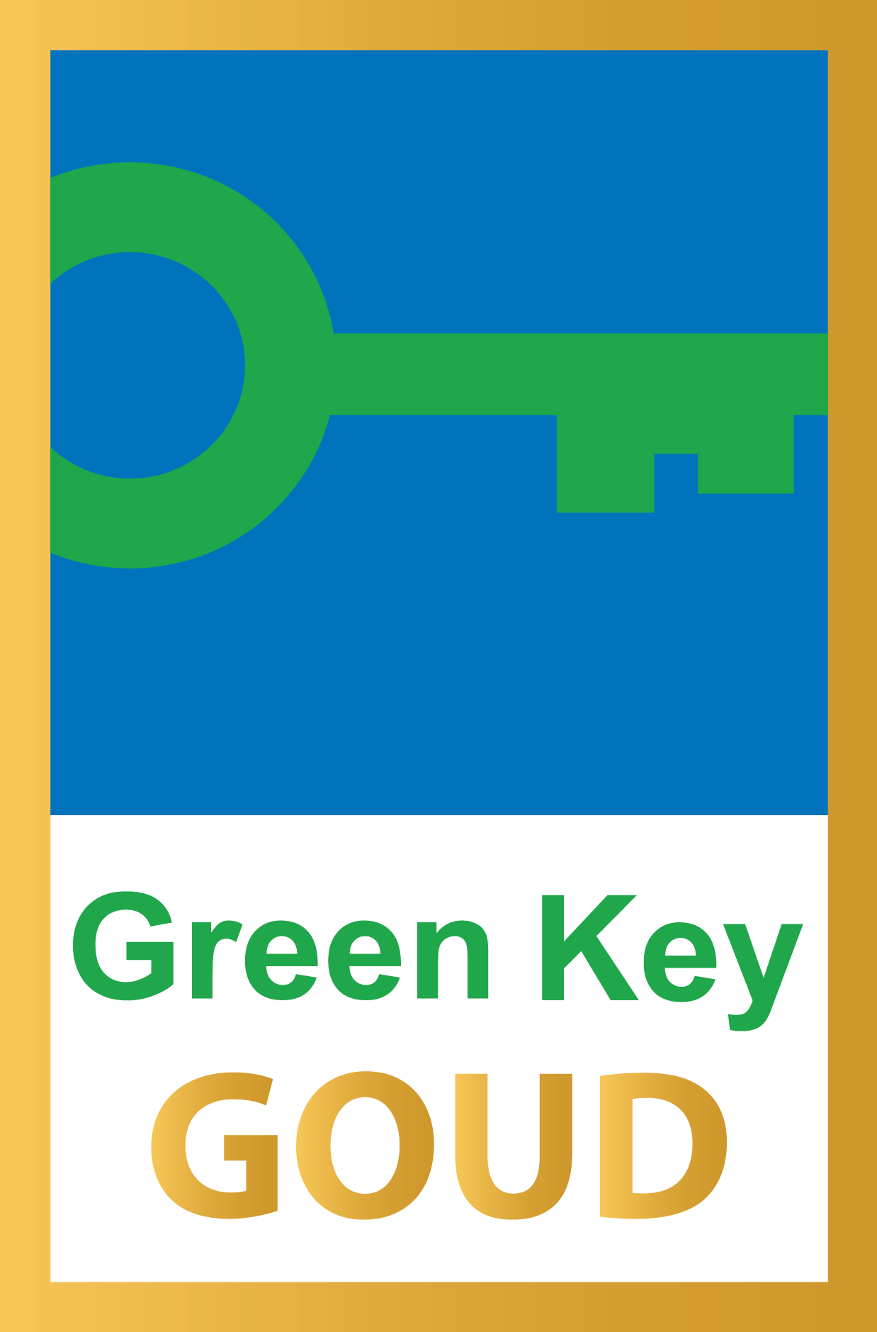 Gouden Greenkey