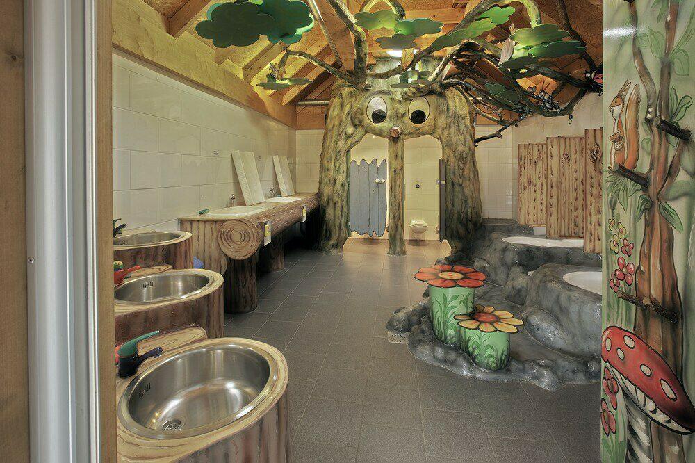 Kinder-Waldbadezimmer