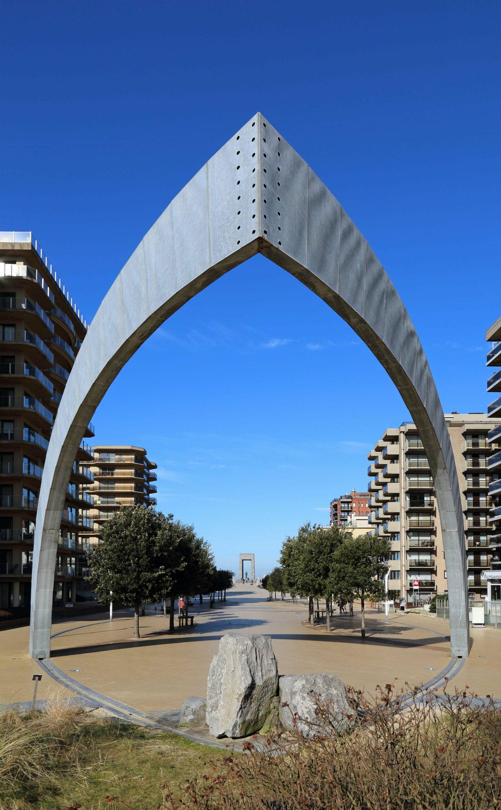 The esplanade of De Panne