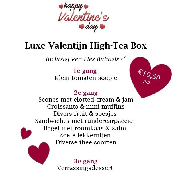 Valentine's High Tea