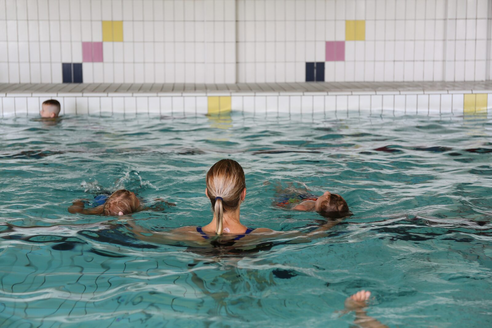 Swimming lessons during your holiday