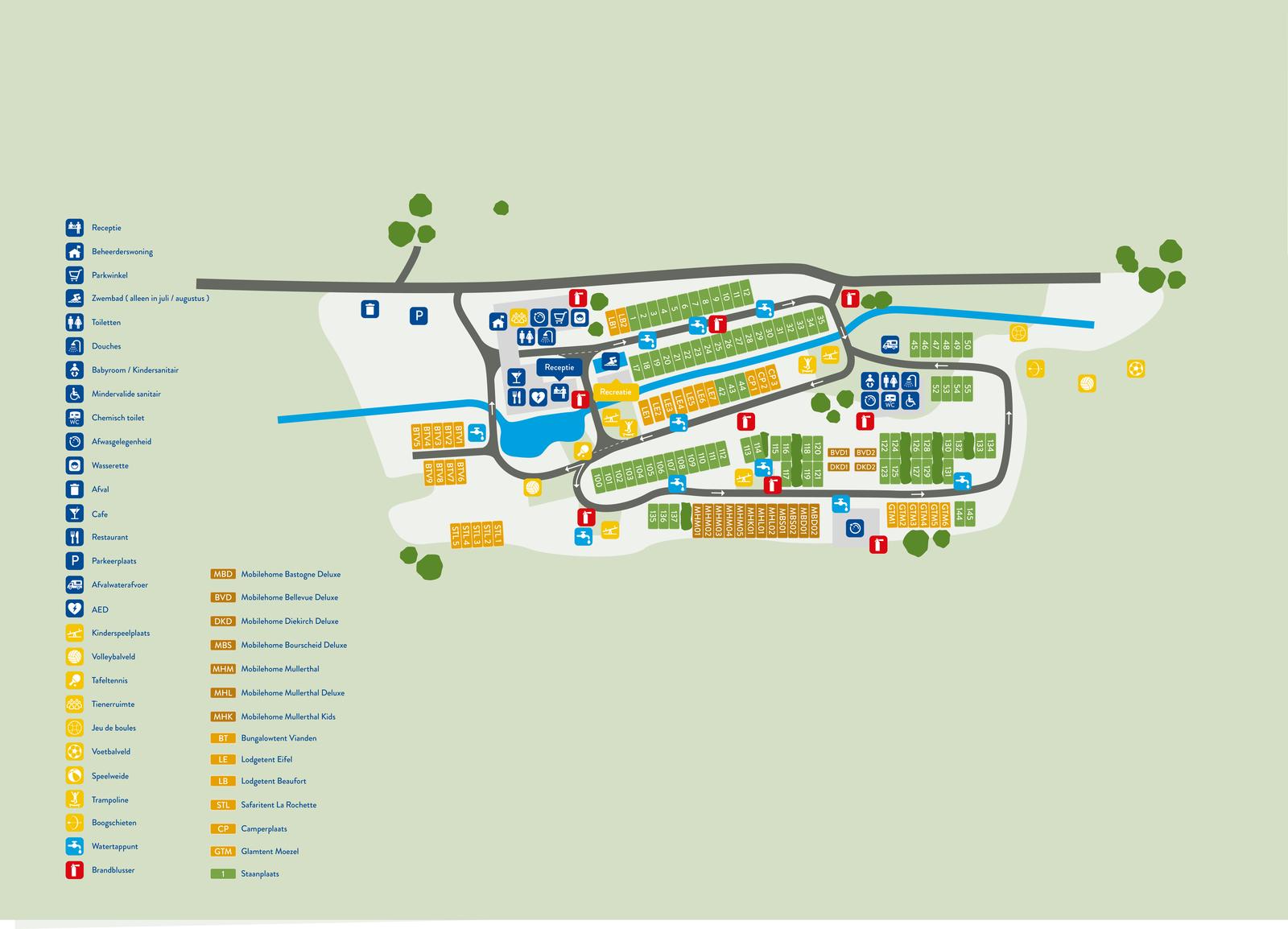 Overzichtskaart van Walsdorf