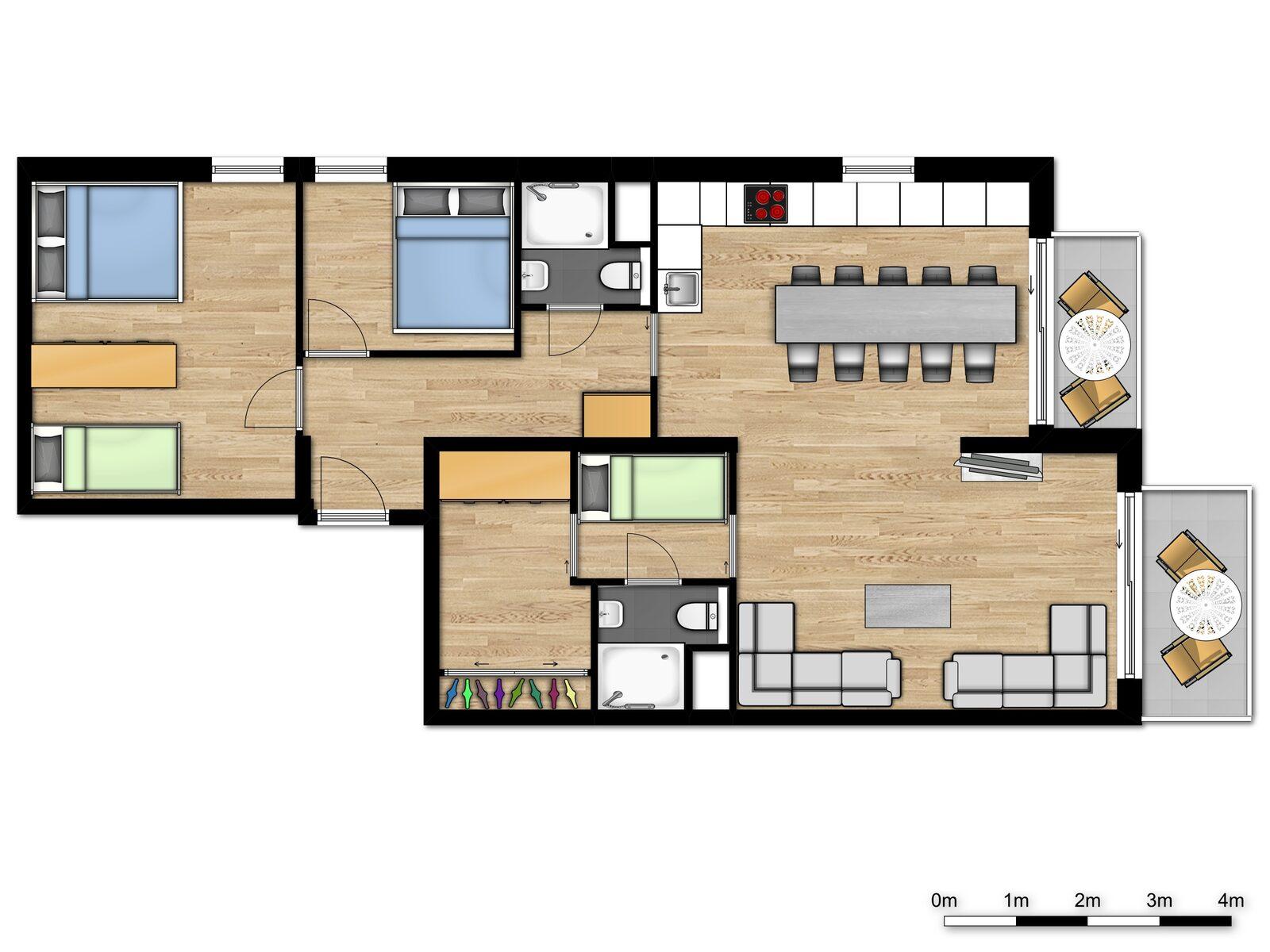 Comfort Suite - 10p