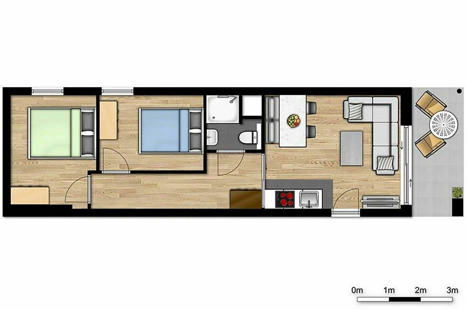 Comfort Suite - 4p