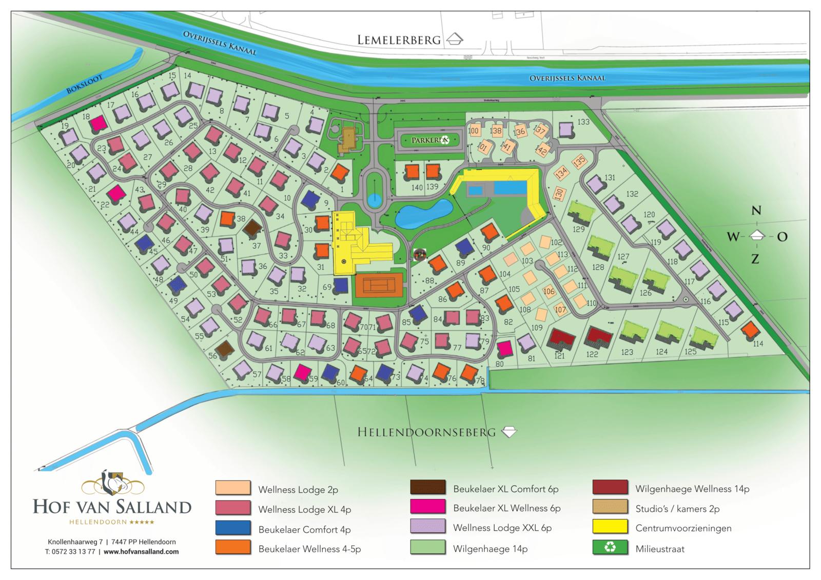 Map Hof van Salland March 2021