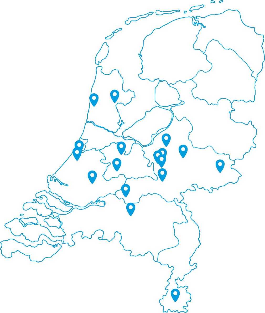 Locaties van TopParken