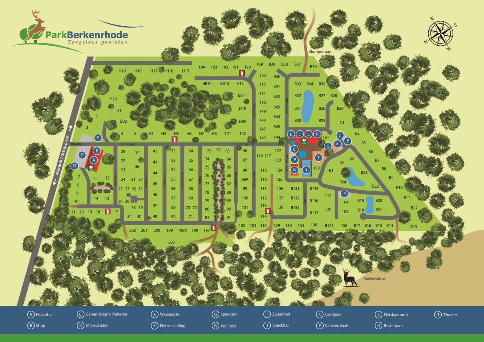 Map | Park Berkenrhode