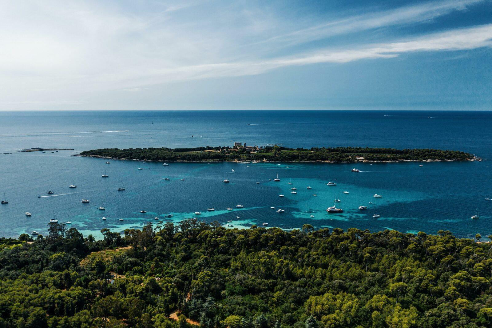 Le littoral Cannois sur la Côte d'Azur