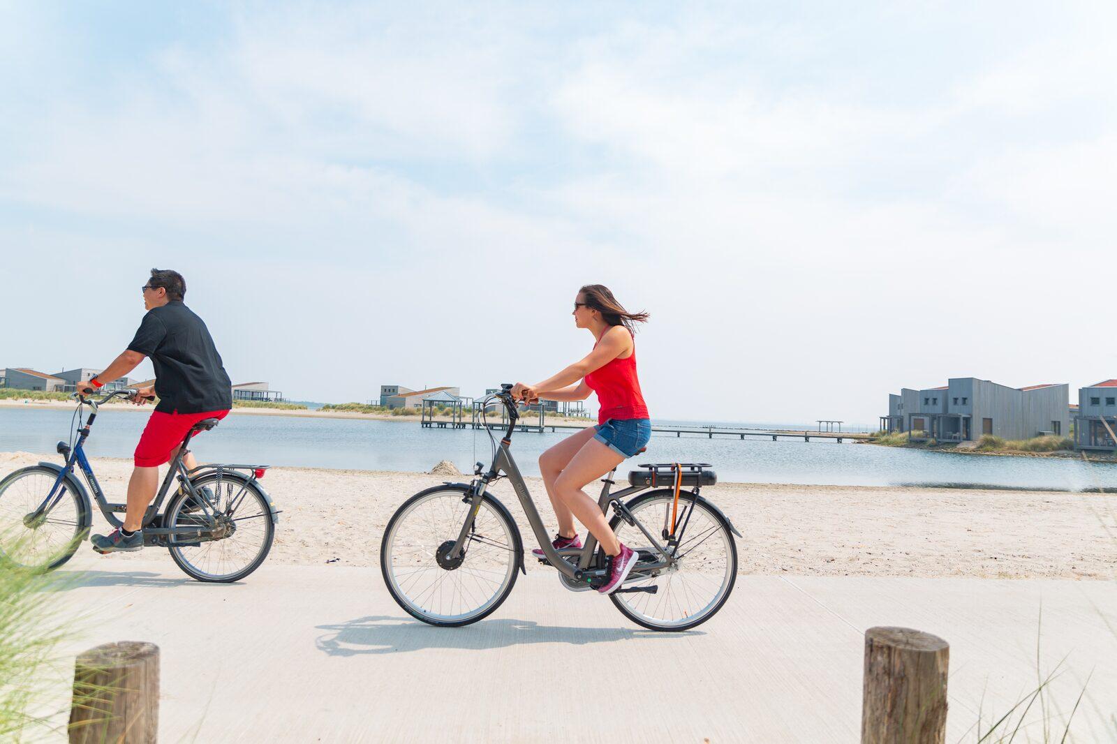 reisverhaal Johan | fietsen op het resort