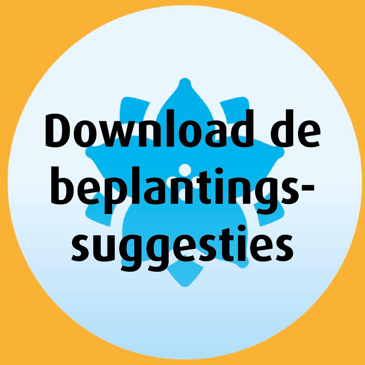 Download de beplantingssuggesties