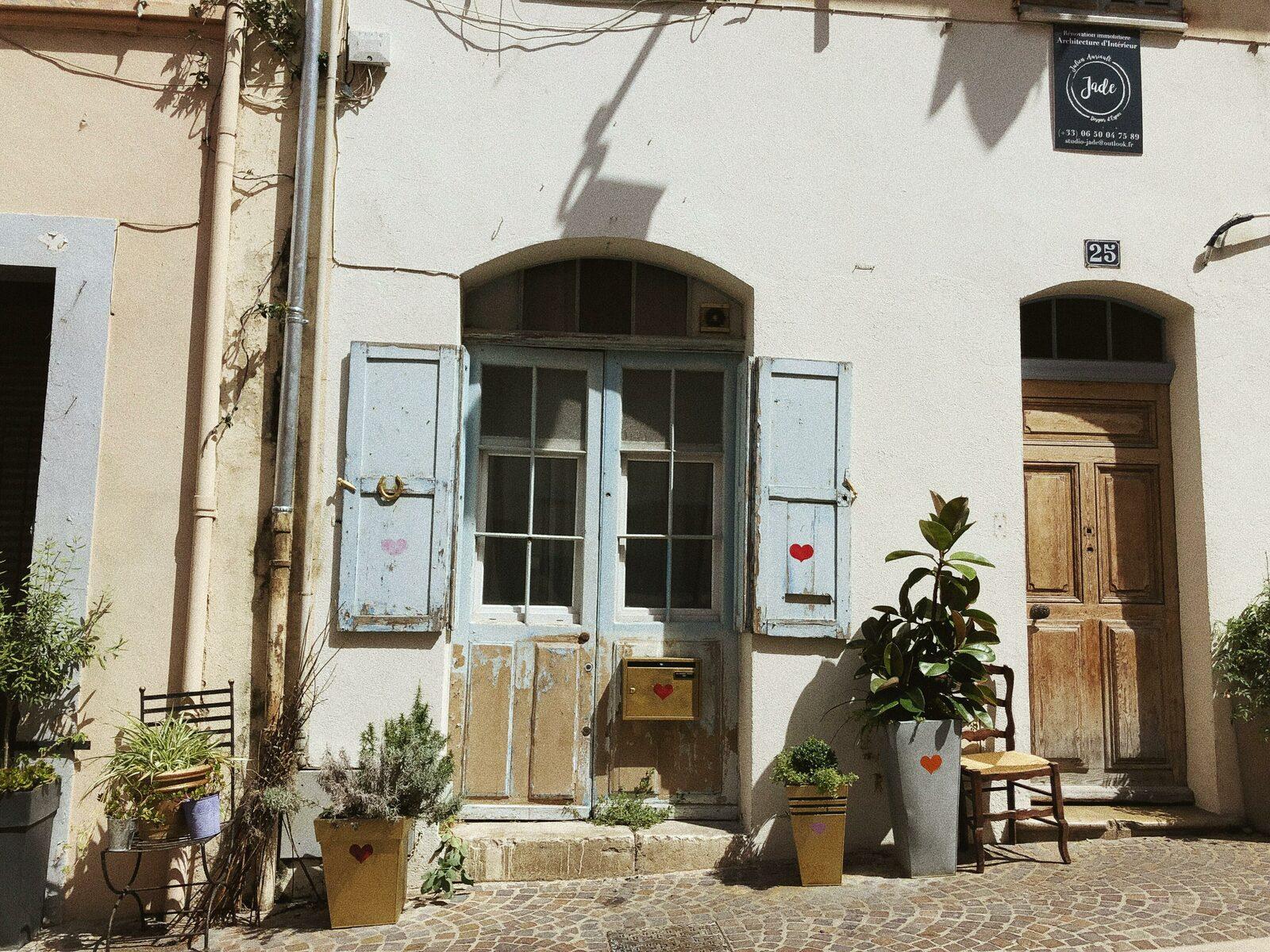 Vieille ville de Cannes sur la Côte d'Azur