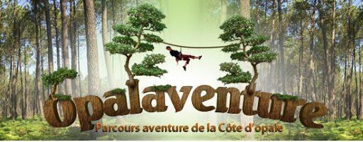 Opalaventure le parc d'accrobanche sur la Côte d'Opale