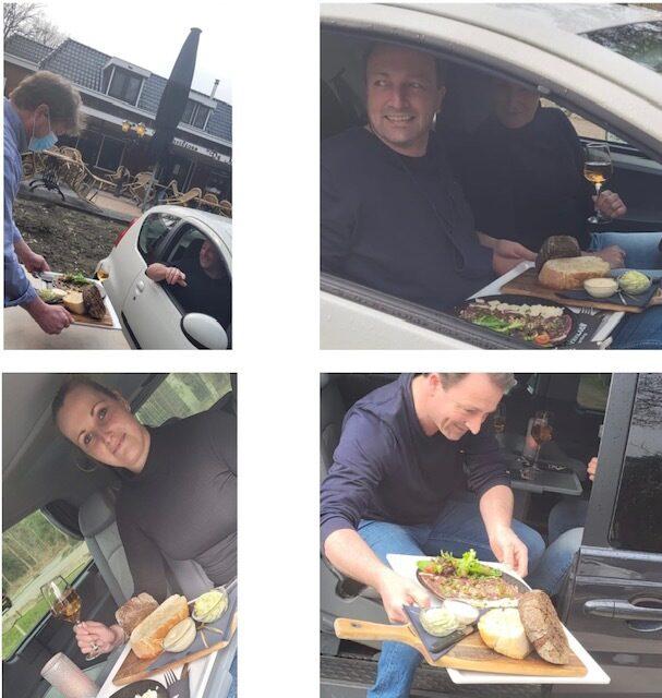 Camper/auto lunch en diner