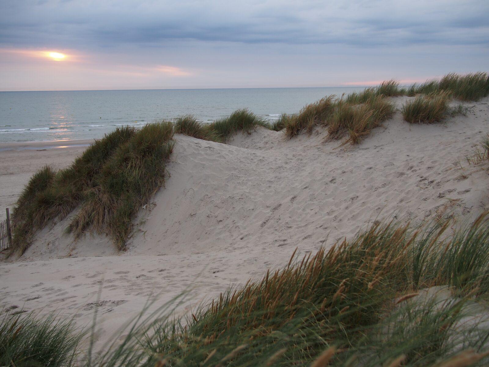 The beautiful beach of berck sur mer