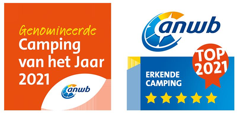 ANWB Topcamping & Genomineerd Camping van het Jaar