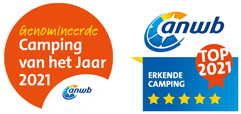 Nominated for ANWB campsite of the year