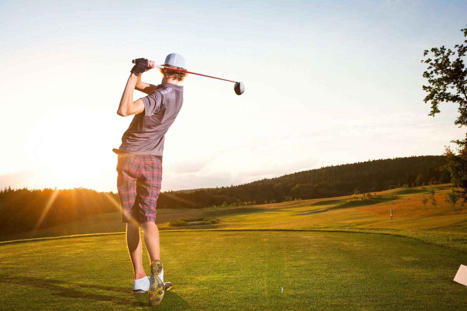 Golfbaan in omgeving