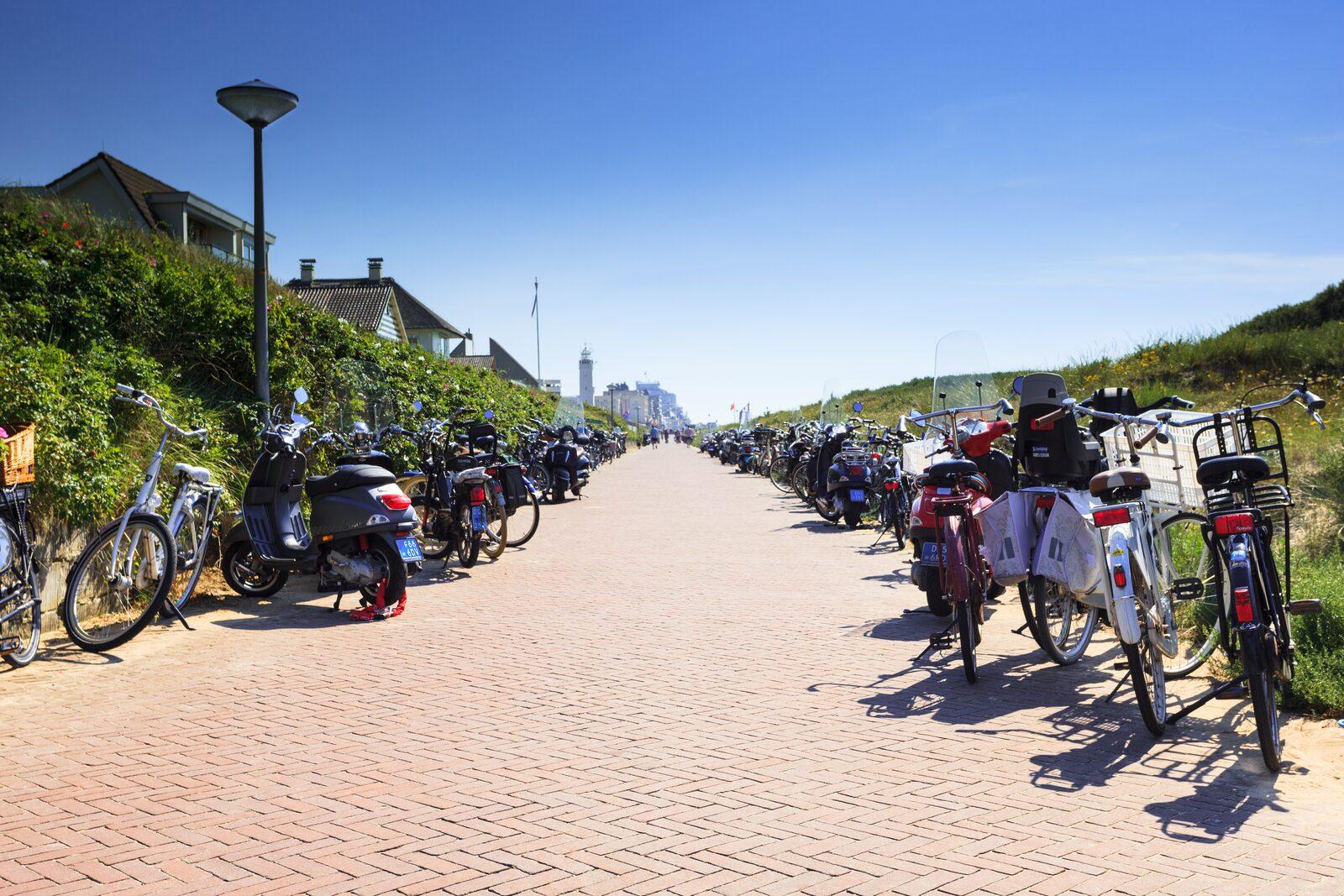 Fahrradverleih EuroParcs Noordwijkse Duinen