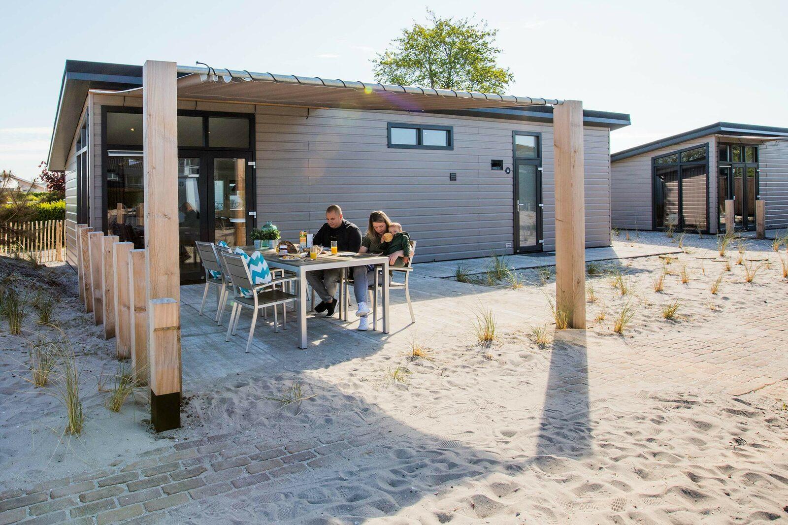 Ferienhaus am Strand Holland