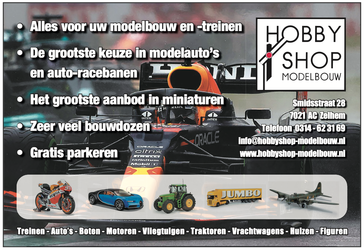 Hobbyshop Modelbouw