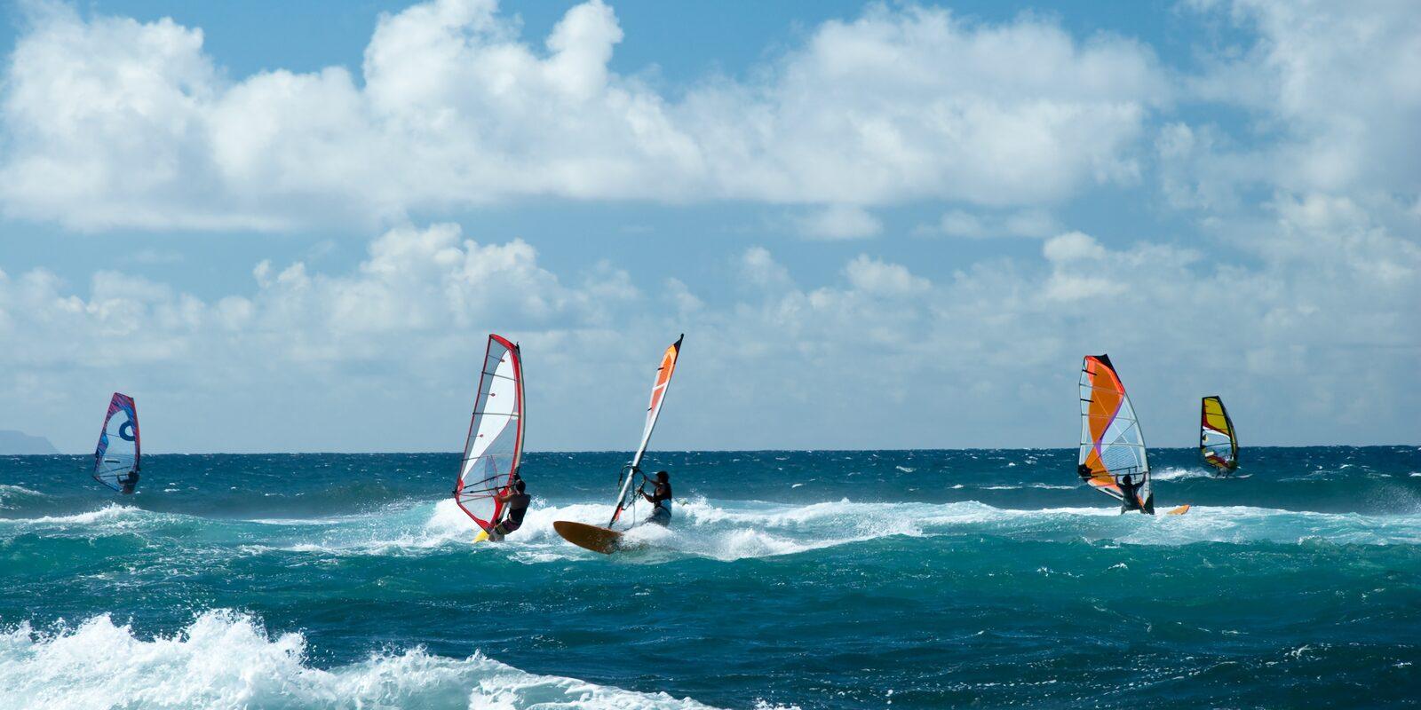 Centro de windsurf de Jibe City