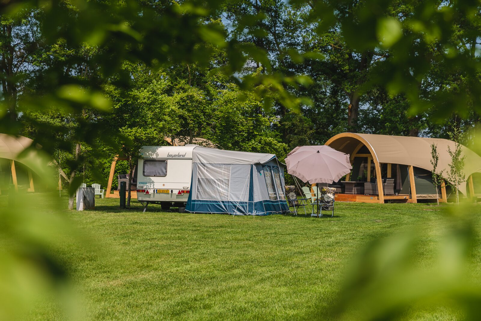 Camping in der Natur