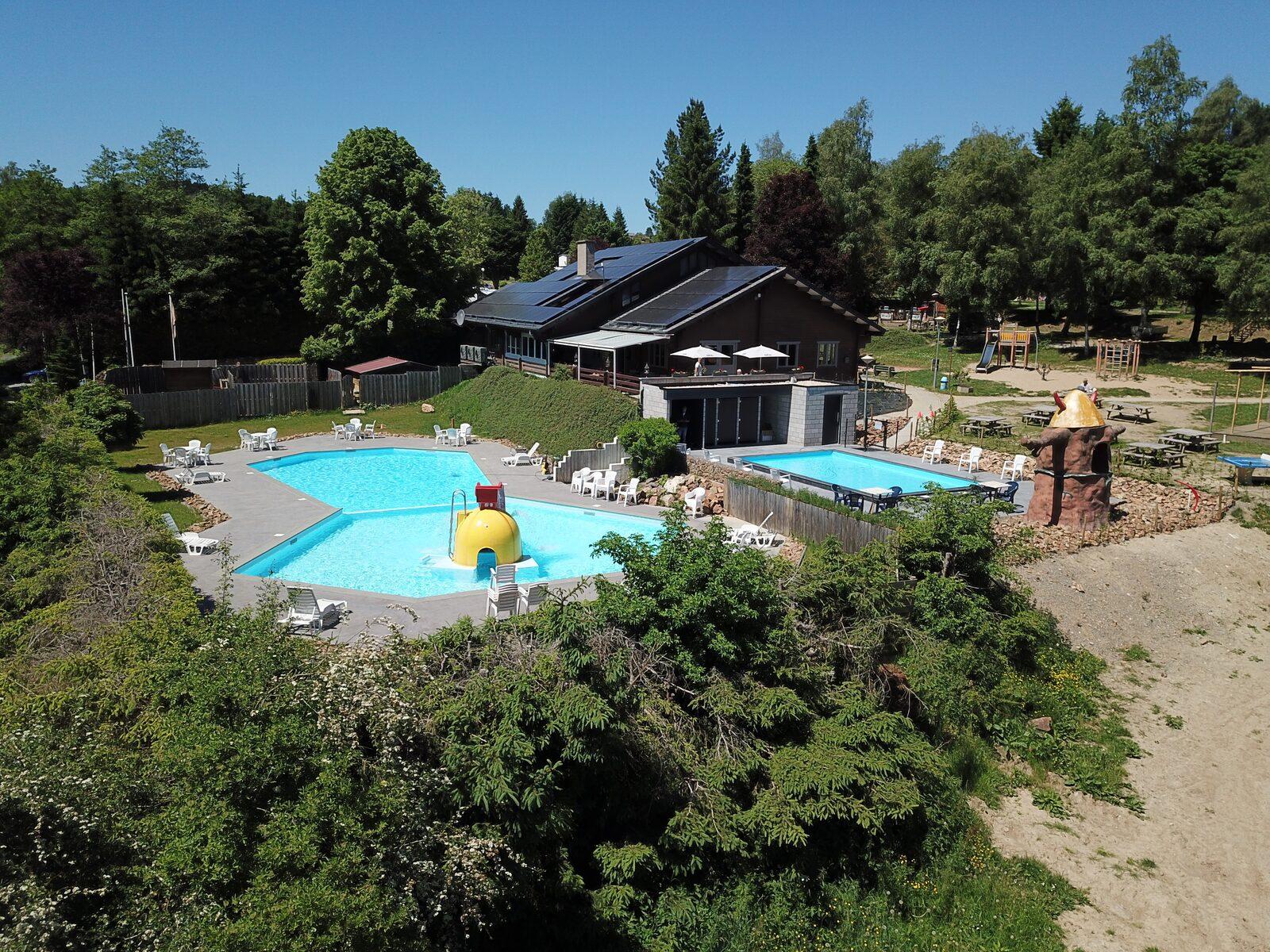Camping Ardennes avec piscine