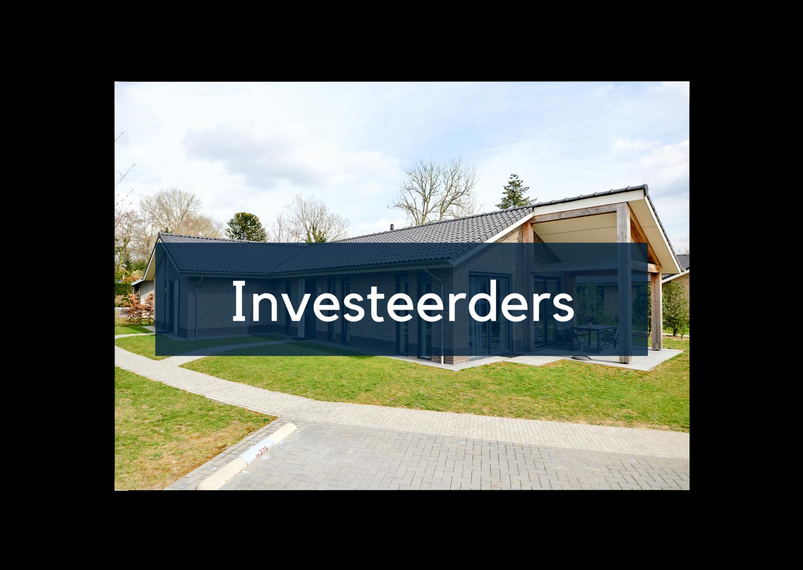 De investeerders in de markt hebben hulp nodig bij het kopen en verkopen van vakantiewoningen