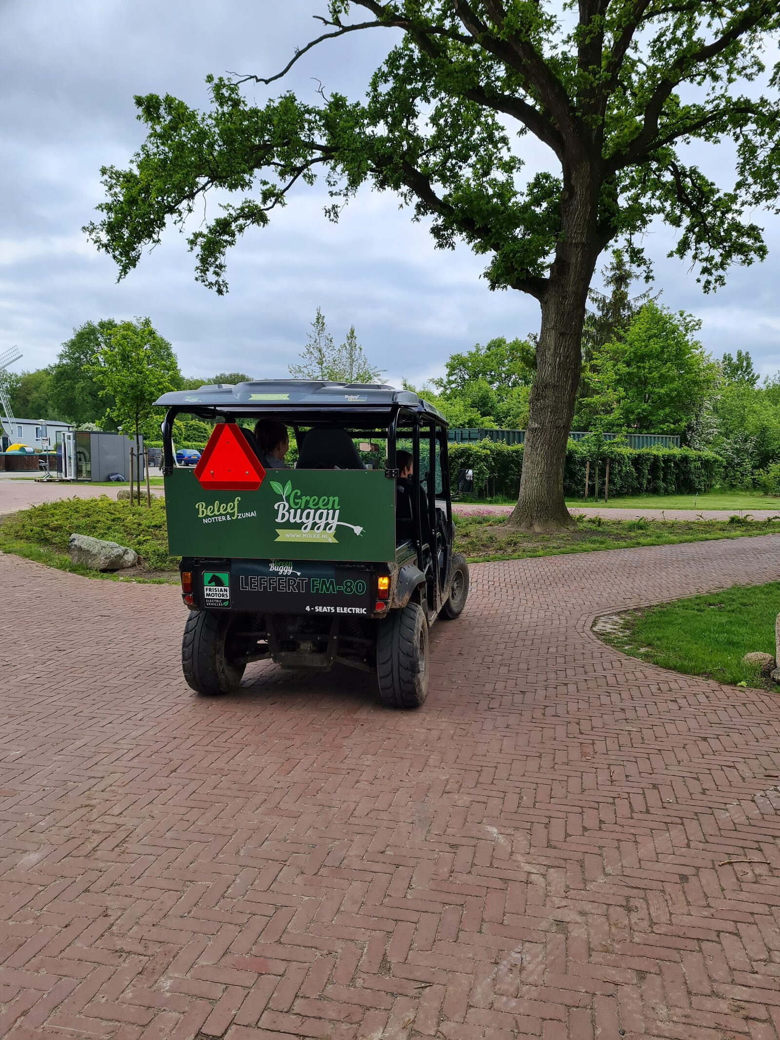 Green buggy