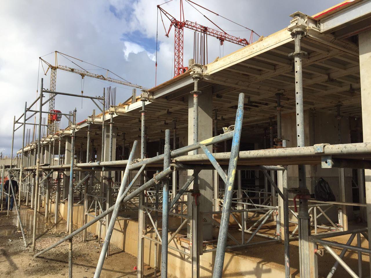 Construção progride a bom ritmo!