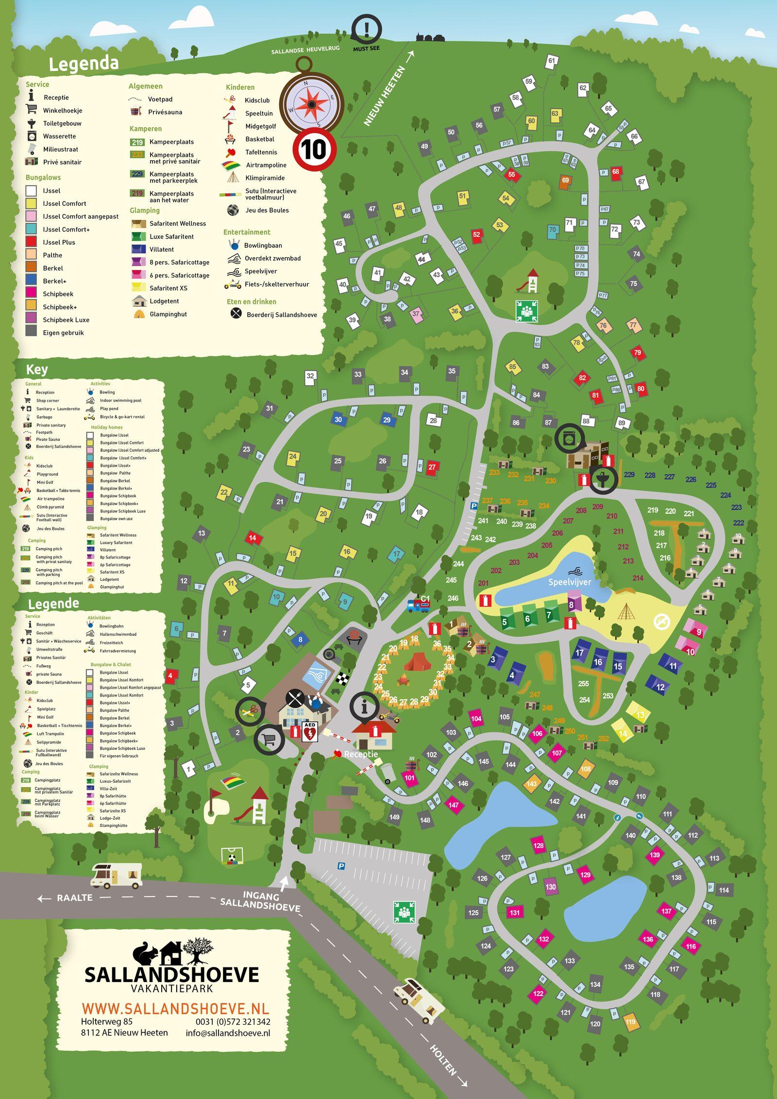Map Sallandshoeve