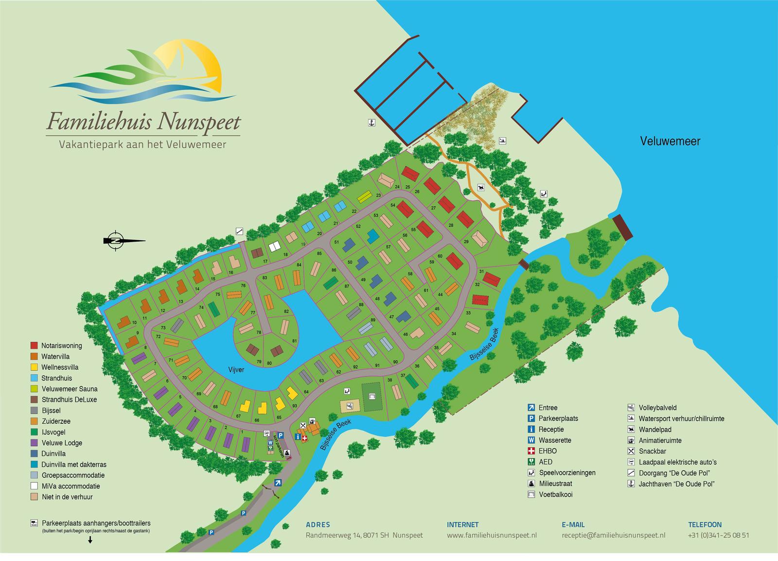 Map | Familiehuis Nunspeet
