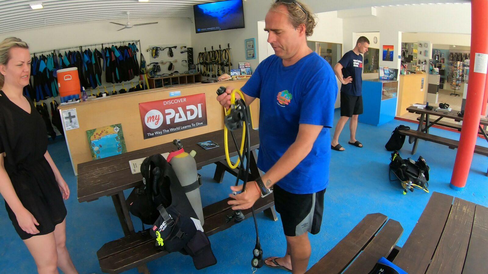 Scuba Diving Equipment Rentals Bahia Diving