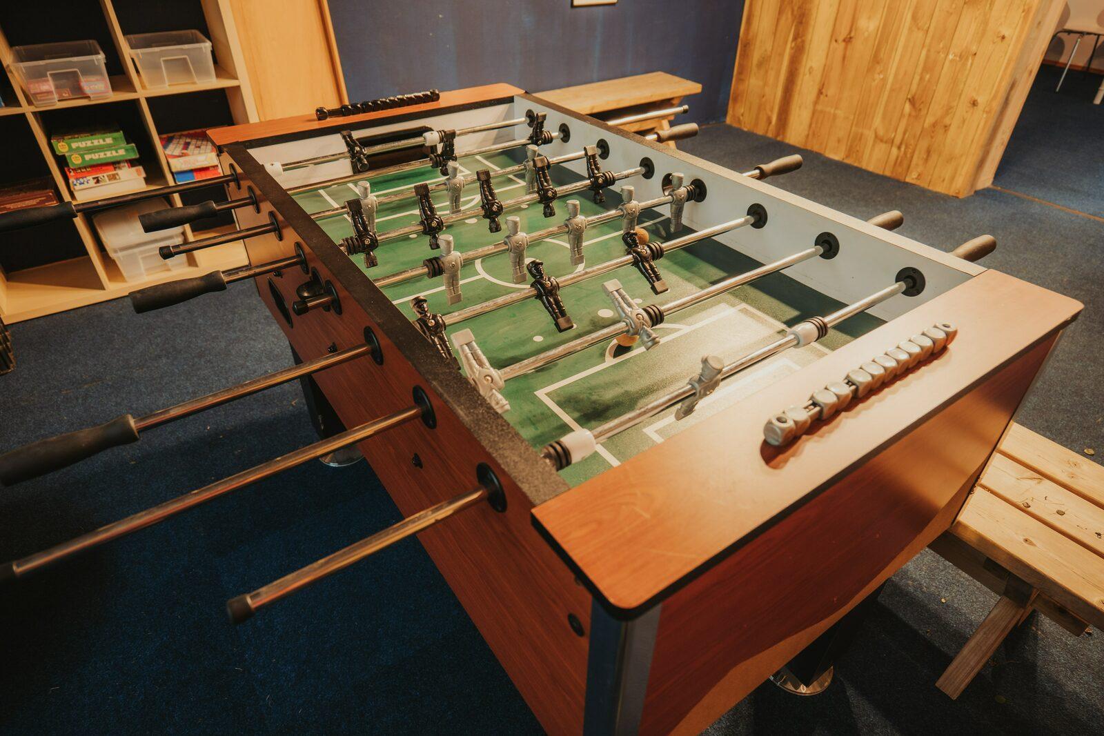 Tafelvoetbal voor jongeren Walsdorf