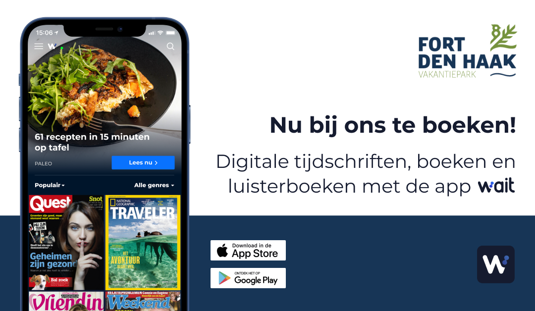 Wait - digital books, audiobooks and magazines (only available in Dutch)