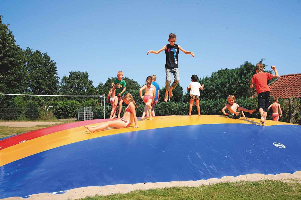 Air trampoline De Lindeberg