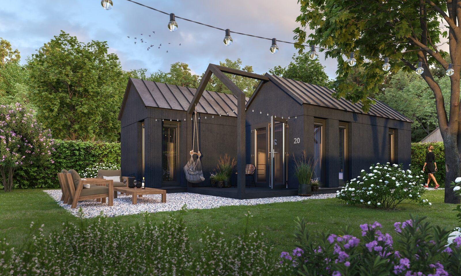 Onze prachtige nieuwe Tiny Houses vanaf mei 2022!