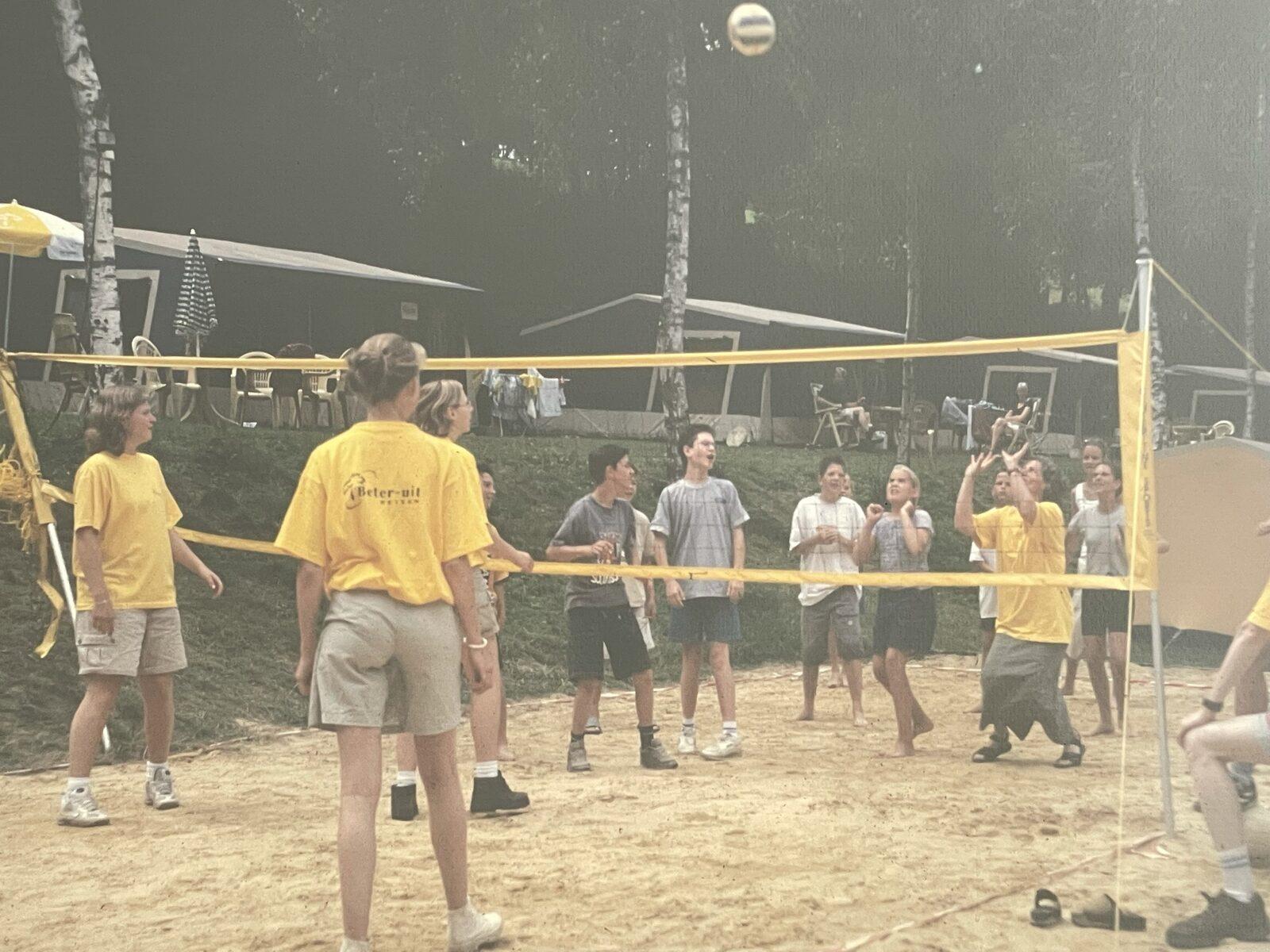 Volleybal vroeger Walsdorf
