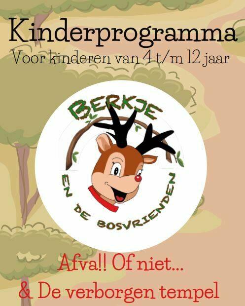 Programmheft für die Kinderunterhaltung