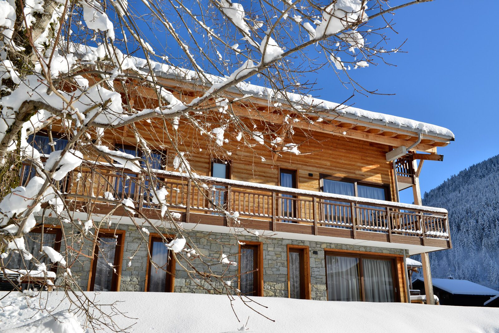 Oasis Les Portes du Soleil met zonnestralen