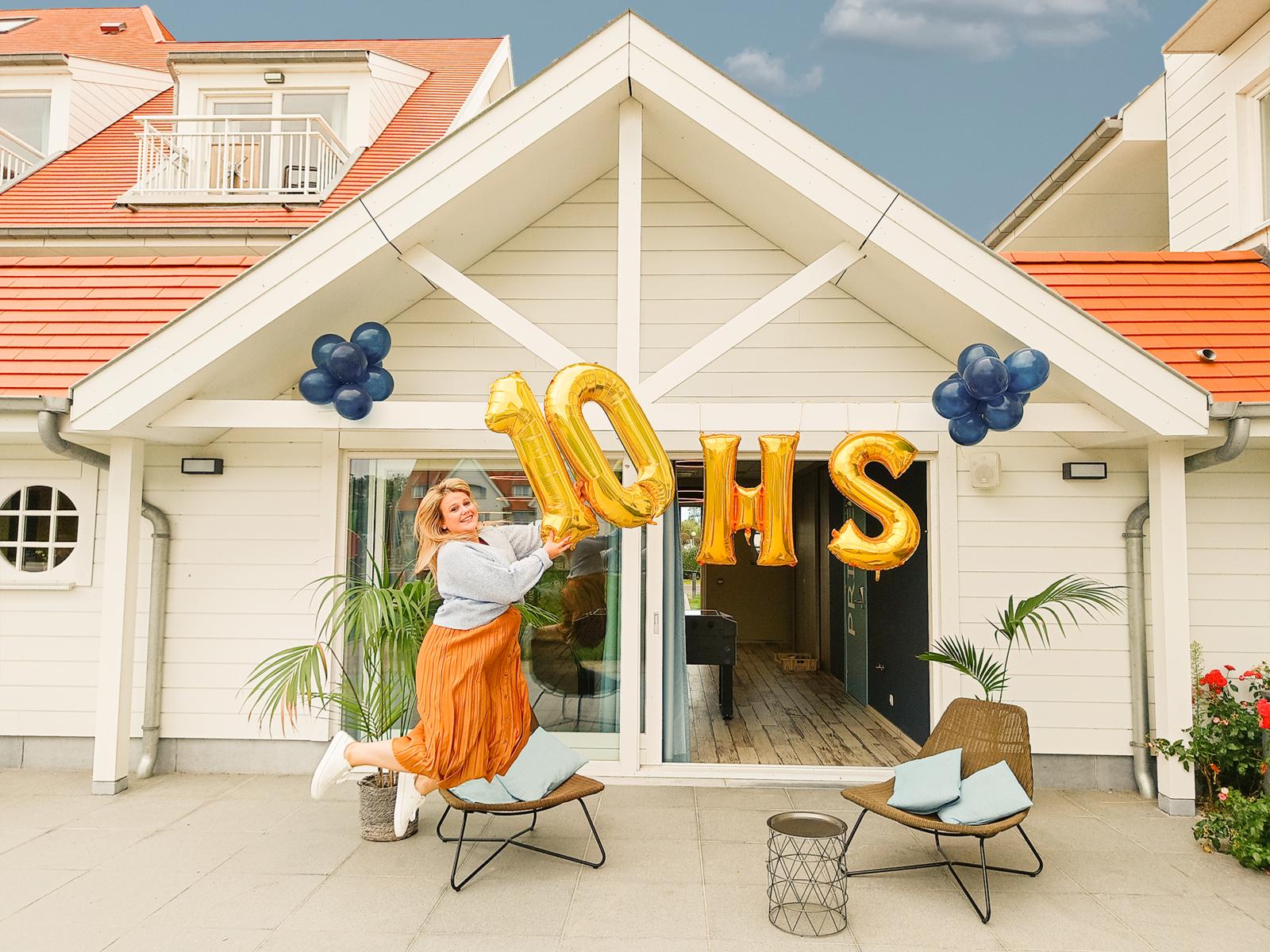 10 jaar Holiday Suites
