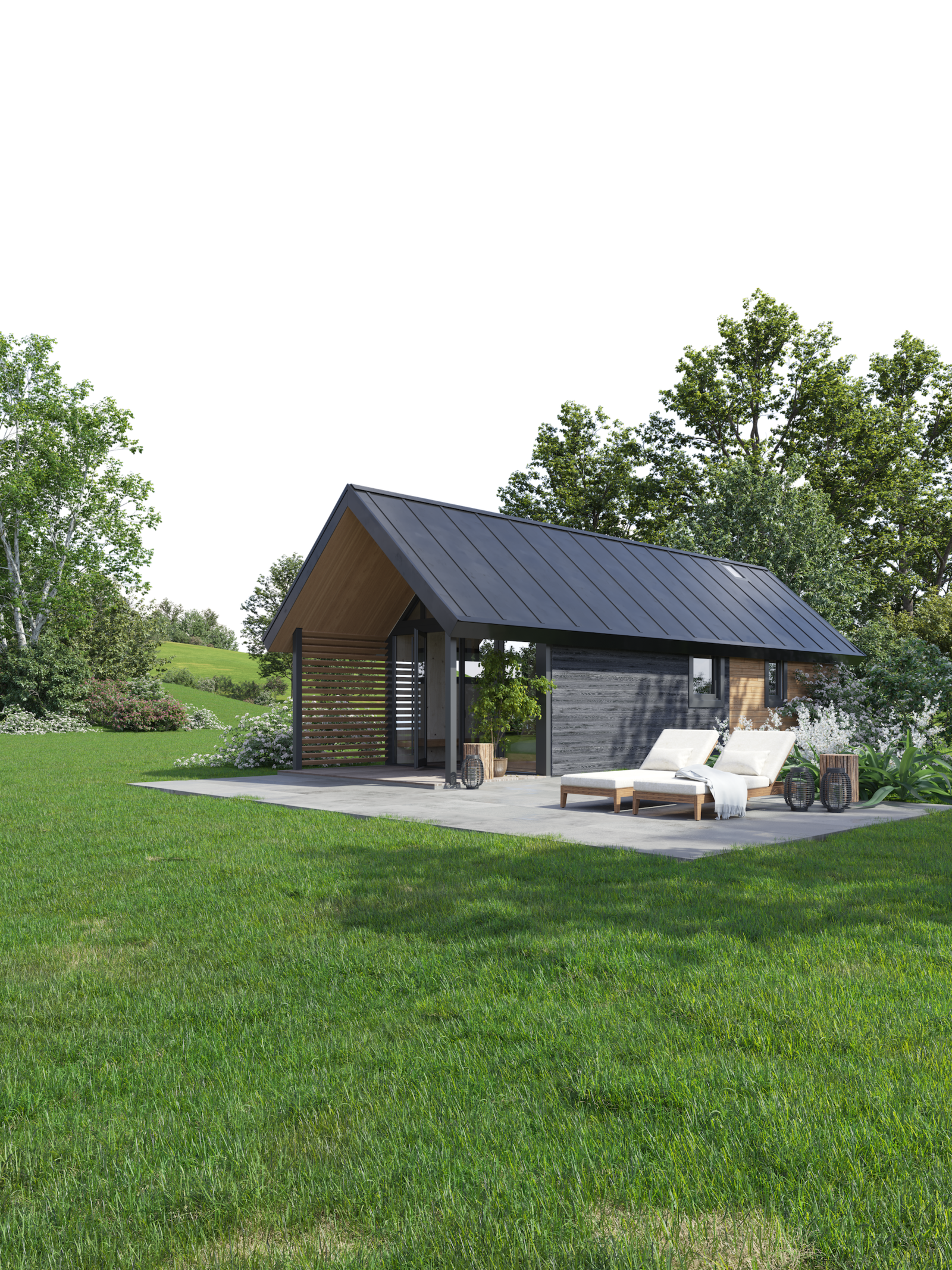 Tiny house - Berg Lodge - Phase 3
