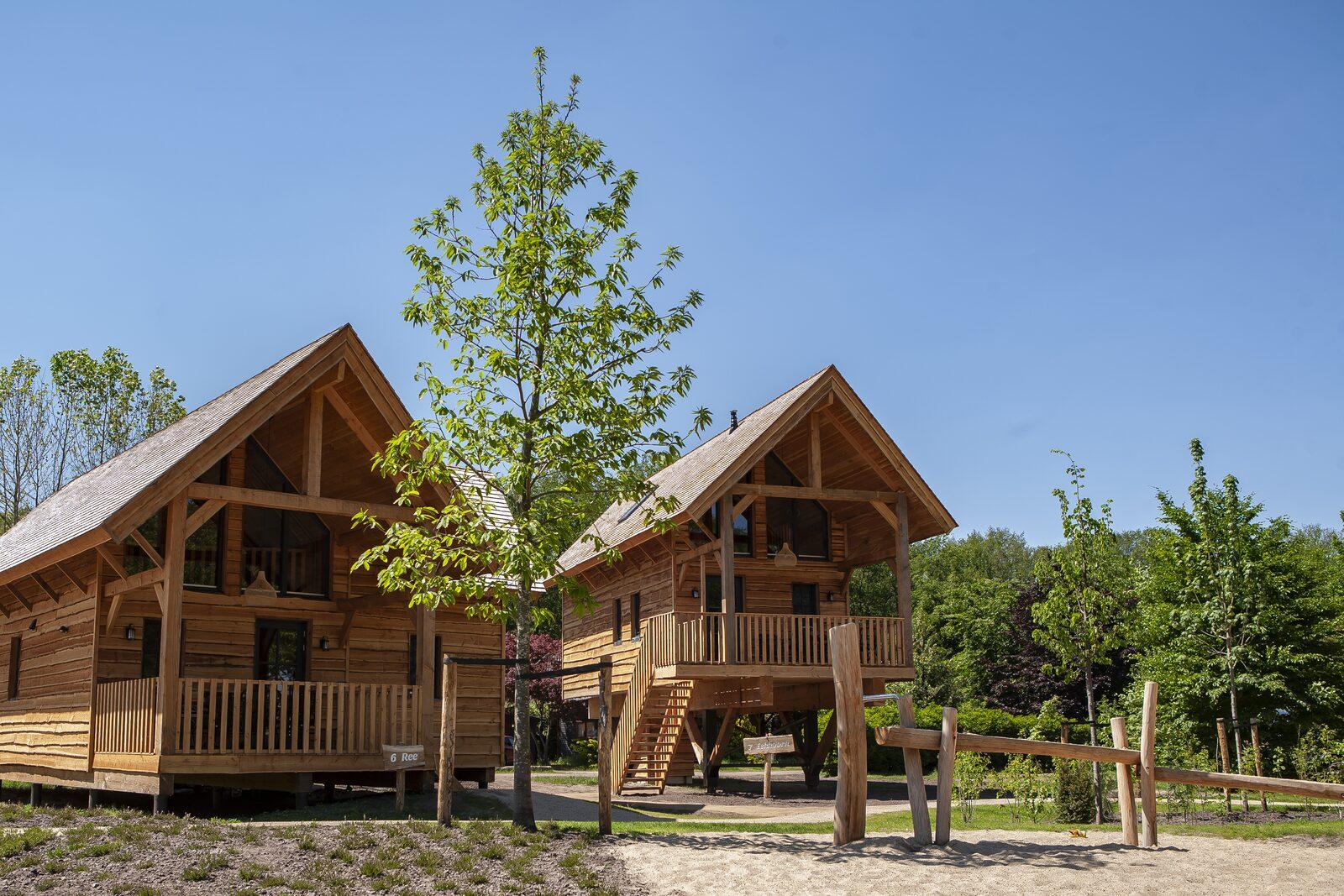 Nieuw vakantiehuisje natuur