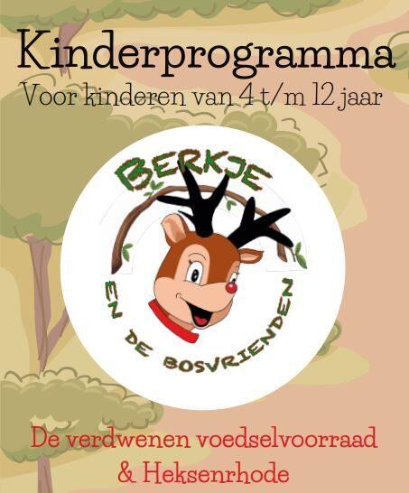 Kinderanimatie programmaboekje
